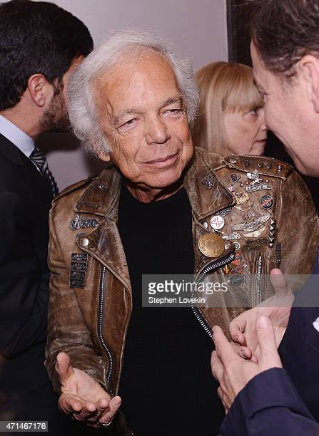 Ralph Lauren attends the WWD Relaunch Party at The NoMad Hotel on April 28 2015 in New York City