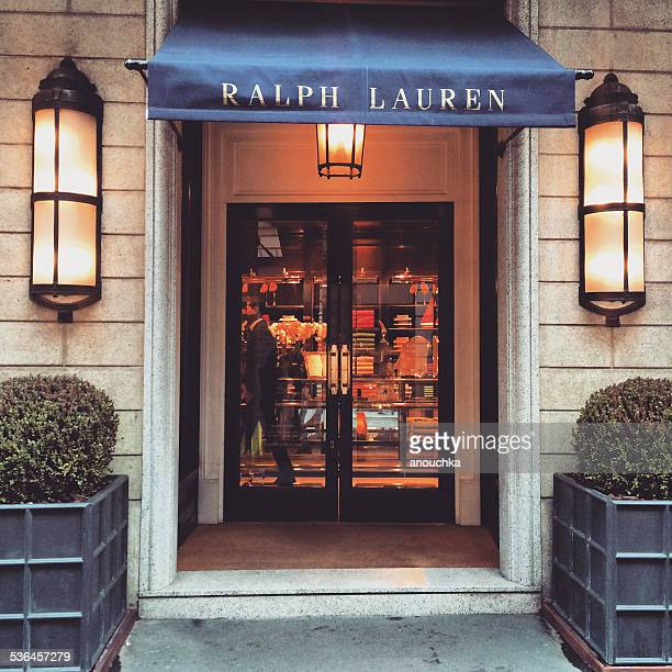 Ralph Lauren Boutique in Milan, Italy