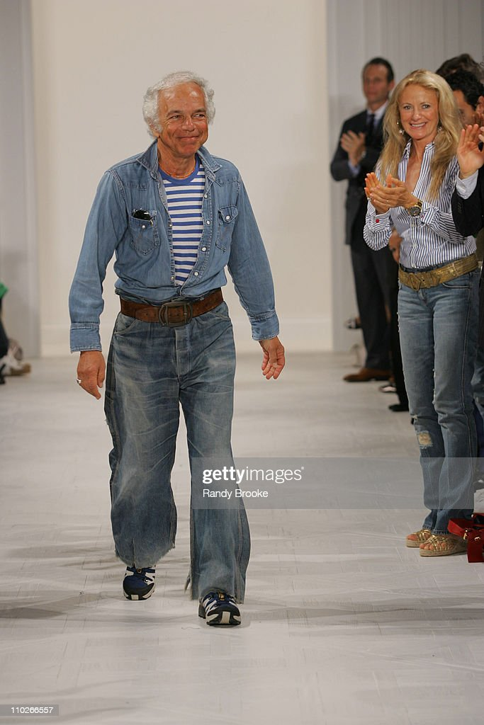 <a gi-track='captionPersonalityLinkClicked' href=/galleries/search?phrase=Ralph+Lauren+-+Fashion+Designer&family=editorial&specificpeople=4442108 ng-click='$event.stopPropagation()'>Ralph Lauren</a>, designer with <a gi-track='captionPersonalityLinkClicked' href=/galleries/search?phrase=Ricky+Lauren&family=editorial&specificpeople=644361 ng-click='$event.stopPropagation()'>Ricky Lauren</a> during Olympus Fashion Week Spring 2006 - <a gi-track='captionPersonalityLinkClicked' href=/galleries/search?phrase=Ralph+Lauren+-+Fashion+Designer&family=editorial&specificpeople=4442108 ng-click='$event.stopPropagation()'>Ralph Lauren</a> - Runway at The Annex in New York City, New York, United States.