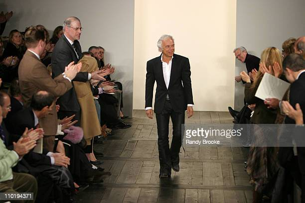 Ralph Lauren during Olympus Fashion Week Fall 2004 Ralph Lauren Runway at Dia Annex in New York City New York United States