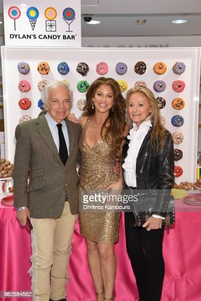 Ralph Lauren Dylan Lauren and Ricky Lauren celebrate the Sweet 16 of Dylan's Candy Bar on October 17 2017 in New York City