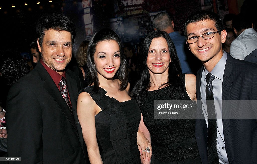 <a gi-track='captionPersonalityLinkClicked' href=/galleries/search?phrase=Ralph+Macchio&family=editorial&specificpeople=235426 ng-click='$event.stopPropagation()'>Ralph Macchio</a> and family pose at the 'Forever Tango' opening night party at Planet Hollywood Times Square on July 14, 2013 in New York City.
