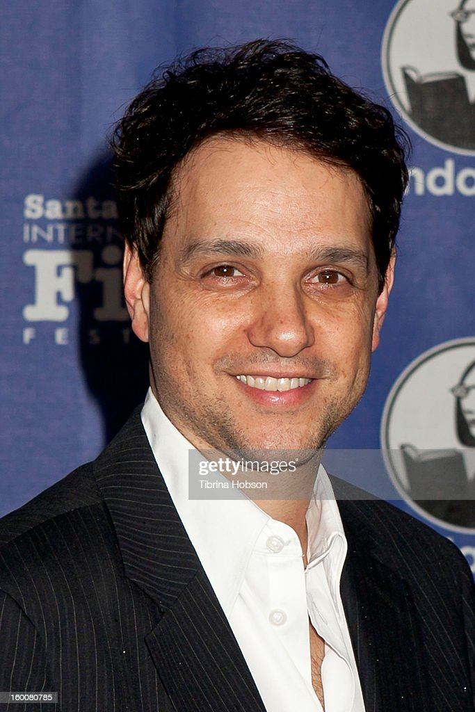 <a gi-track='captionPersonalityLinkClicked' href=/galleries/search?phrase=Ralph+Macchio&family=editorial&specificpeople=235426 ng-click='$event.stopPropagation()'>Ralph Macchio</a> arrives to the 28th annual Santa Barbara International Film Festival's Modern Master Award Tribute honoring Ben Affleck at Arlington Theatre on January 25, 2013 in Santa Barbara, California.