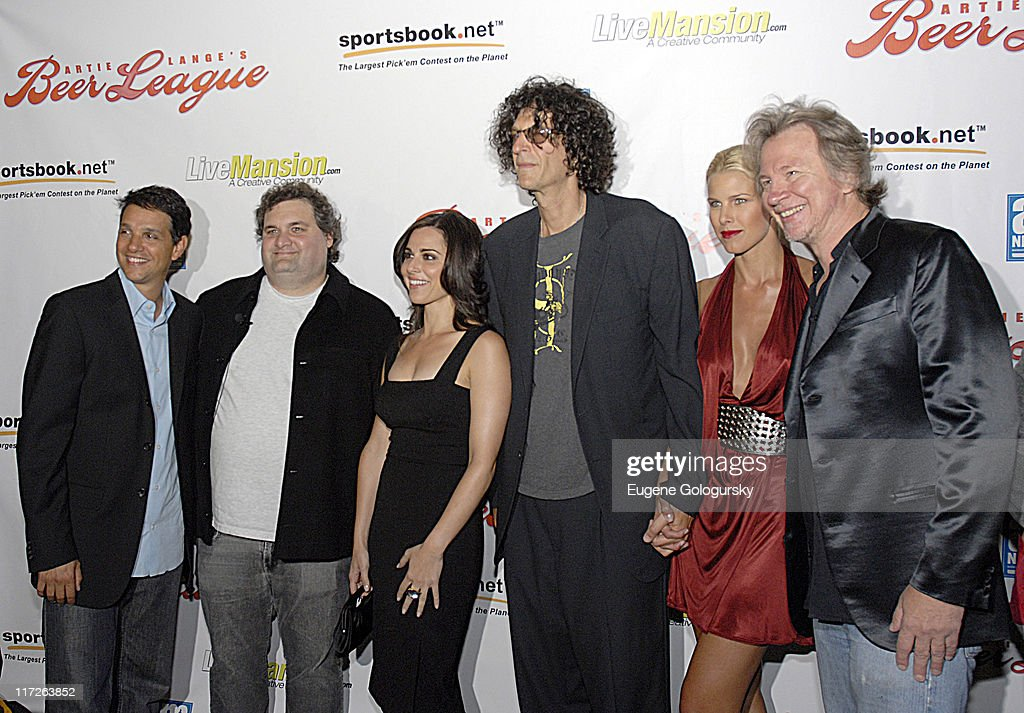Ralph Macchio Artie Lange Cara Buono Howard Stern Beth Ostosky and Fred Norris