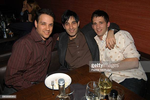 Ralph Macchio Jason Weinberg and attend Champagne Mumm celebrates a night with Patrick McMullan hosted by Ryan Tasz at Geisha House Restaurant on...