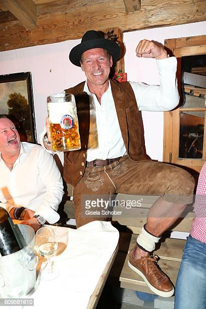 Ralph Moeller during the Oktoberfest at Theresienwiese on September 21 2016 in Munich Germany