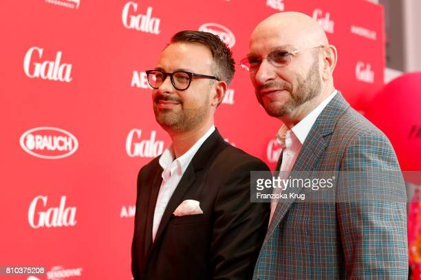 Ralph Morgenstern and his husband Oliver Eder attend the Gala Fashion Brunch during the MercedesBenz Fashion Week Berlin Spring/Summer 2018 at...