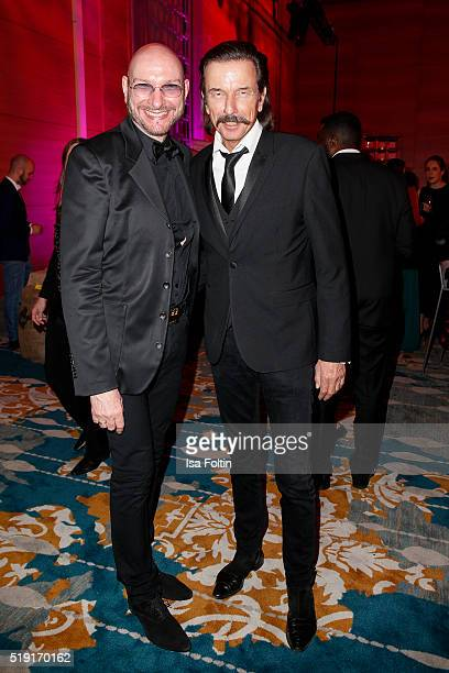 Ralph Morgenstern and Tom Lemke attend the Victress Awards Gala on 2016 in Berlin Germany