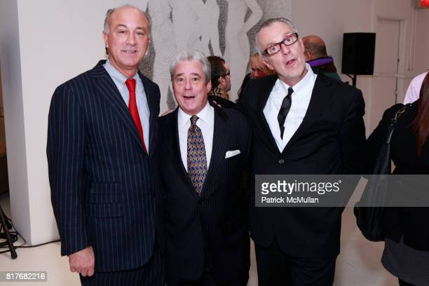 Ralph Pucci and Ken Smart attend PRATT PAPER RALPH PUCCI Exhibition Preview at Ralph Pucci International Gallery Nine Showroom on December 7 2010 in...