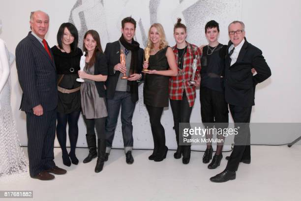 Ralph Pucci Award Winners and Ken Smart attend PRATT PAPER RALPH PUCCI Exhibition Preview at Ralph Pucci International Gallery Nine Showroom on...