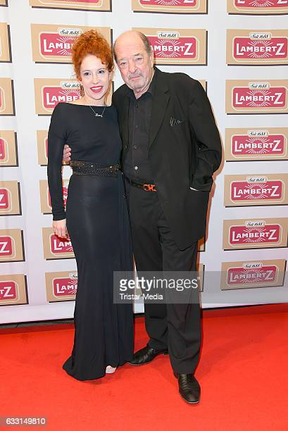 Ralph Siegel and girlfriend Laura attend the 'Lambertz Monday Schoko Night 2017' on January 30 2017 in Cologne Germany
