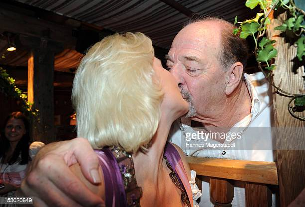 Ralph Siegel and his wife Kriemhild attend the Oktoberfest beer festival at Kaefer on September 28 2012 in Munich Germany