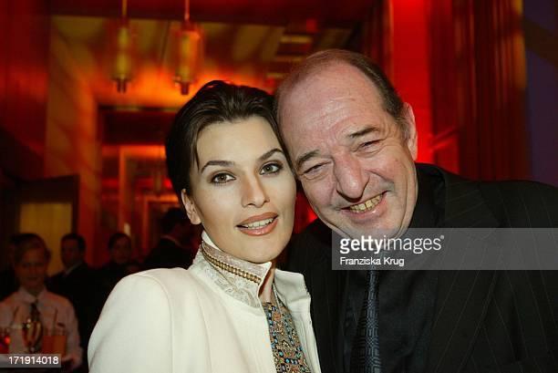 Ralph Siegel und Freundin Kriemhild Beim Nordoff Robbins Fundraising Dinner In Berlin Am 140203