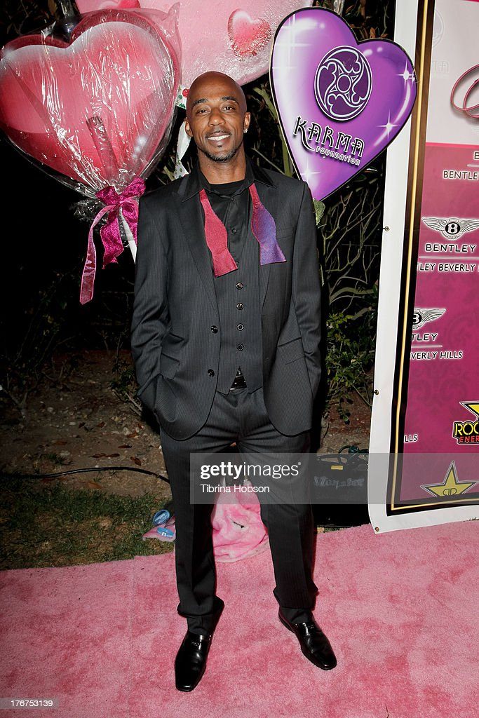 Ralph Tresvant attends the 8th annual Kandyland on August 17, 2013 in Beverly Hills, California.