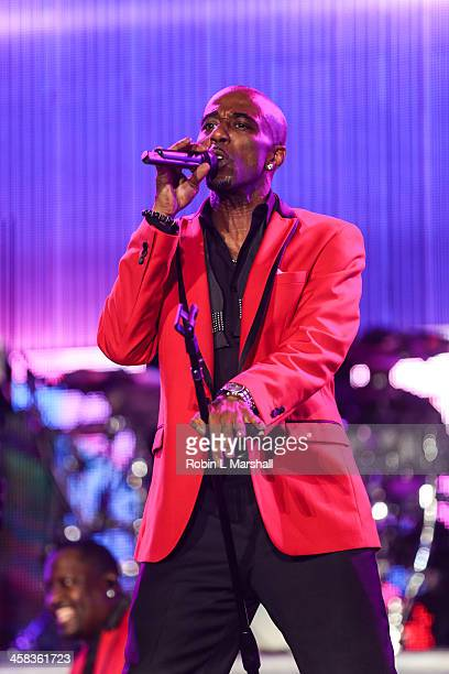 Ralph Tresvant of New Edition performs at the 2016 ESSENCE Festival NOLA Concert at the Mercedes Benz Superdome on July 1 2016 in New Orleans...