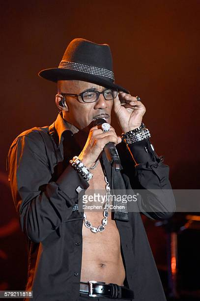 Ralph Tresvant of New Edition performs during the 2016 Cincinnati Music Festival at Paul Brown Stadium on July 22 2016 in Cincinnati Ohio