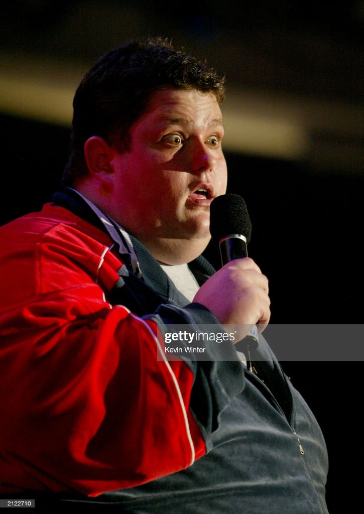 Ralphie May performs on stage at the MTV Bash at the Hollywood Palladium on June 28, 2003 in Hollywood, California.