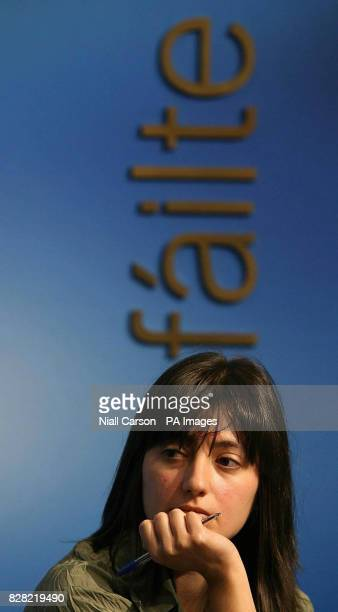 Raluca Anucuta from the Immigration Council of Ireland during the launch of a new information campaign about the rights of immigrants Dublin Thursday...