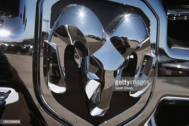 Ram 1500 pickup truck is offered for sale at Jack Phelan Dodge on April 2 2013 in Countryside Illinois Chrysler Group LLC the maker of Dodge Chrysler...
