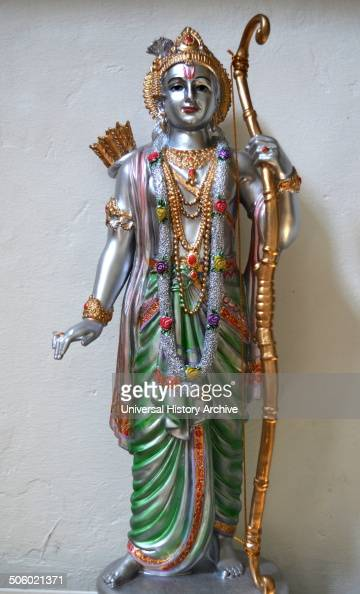 Rama or Ram the seventh avatar of the Hindu god Vishnu Rama is also the hero of the Hindu epic Ramayana One of the many popular figures and deities...
