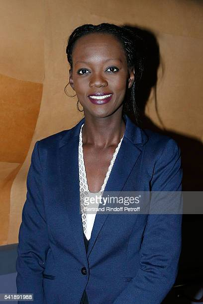 Rama Yade attends the 'Jacques Chirac ou le Dialogue des Cultures' Exhibition during the 10th Anniversary of Quai Branly Museum at Musee du Quai...