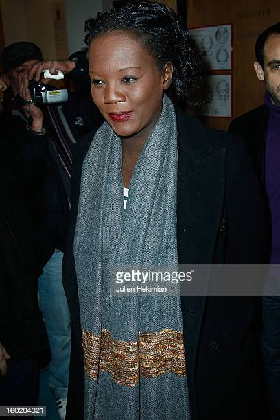Rama Yade attends the 'Mariage Pour Tous' Party event at Theatre du RondPoint on January 27 2013 in Paris France