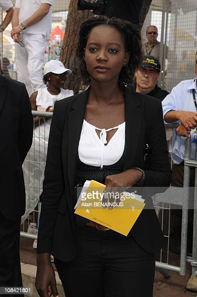 Rama Yade in Monte Carlo Monaco on July 04th 2009
