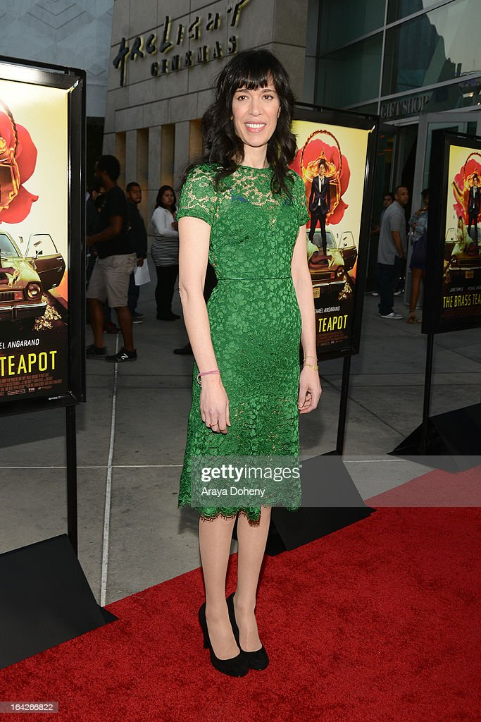 Ramaa Mosley arrives at the LA screening of Magnolia Pictures' 'The Brass Teapot' at ArcLight Hollywood on March 21, 2013 in Hollywood, California.