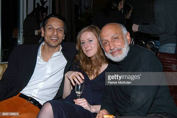 Raman Sanda Sara Barby and attend The Wall Street Journal Weekend Edition Core Entertainment Present the 1st Annual Core Oscar Challenge at The Core...