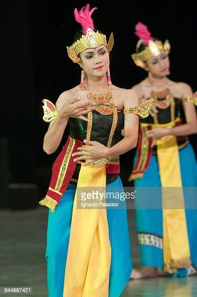 Ramayana performance at night at Prambanan
