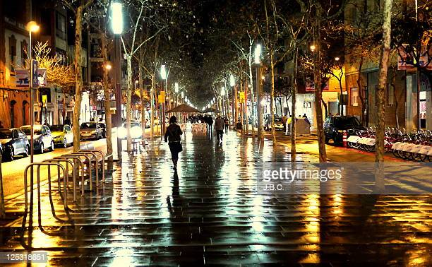Ramblas street of Barcelona