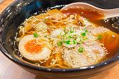 Ramen Shoyu Japanese food style