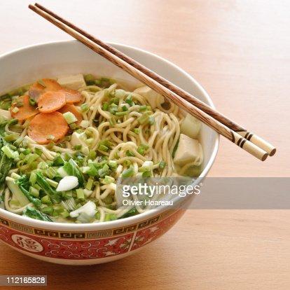 Ramen soup : Stock Photo