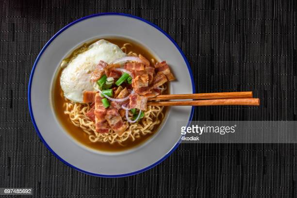 Ramen with Bacon and Egg
