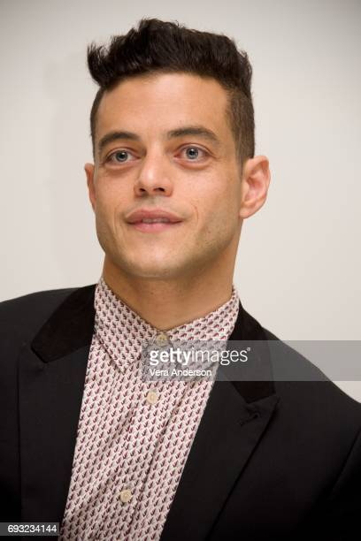 Rami Malek at the 'Mr Robot' Press Conference at the Four Seasons Hotel on June 5 2017 in Beverly Hills California