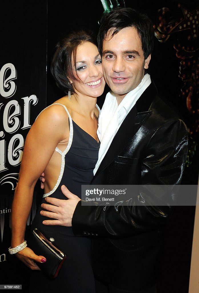 Ramin Karimloo with his wife Mandy attend the afterparty following the world premiere of 'Love Never Dies' at the Old Billingsgate Market on March 9, 2010 in London, England.