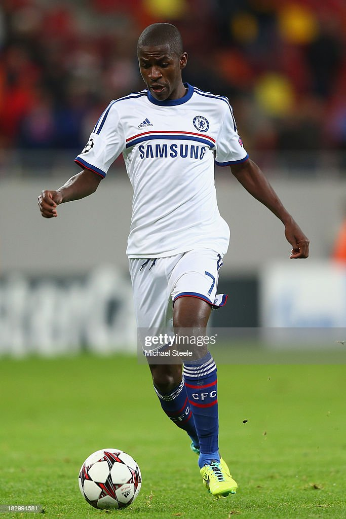 Ramires of Chelsea during the UEFA Champions League Group E Match between FC Steaua Bucuresti and Chelsea at the National Arena Stadium on October 1, 2013 in Bucharest, Romania.