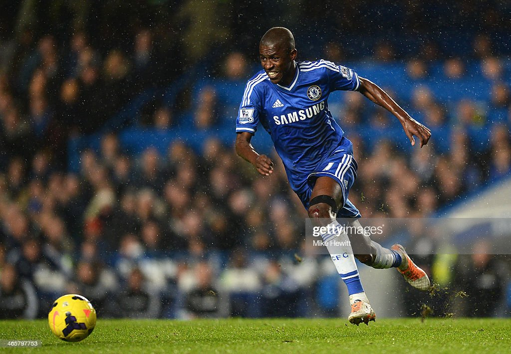 Ramires of Chelsea in action during the Barclays Premier League match between Chelsea and West Ham United at Stamford Bridge on January 29, 2014 in London, England.