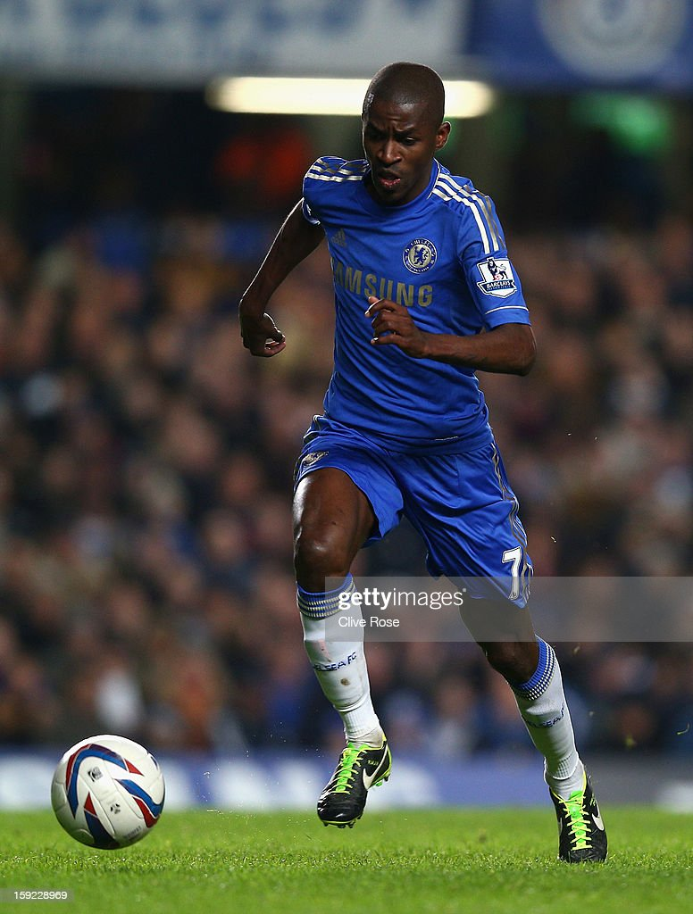 Ramires of Chelsea in action during the Capital One Cup Semi-Final first leg match between Chelsea and Swansea City at Stamford Bridge on January 9, 2013 in London, England.