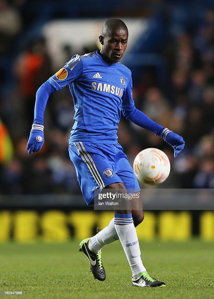 Ramires of Chelsea in action during the UEFA Europa League Round of 32 second leg match between Chelsea and Sparta Praha at Stamford Bridge on February 21, 2013 in London, England.