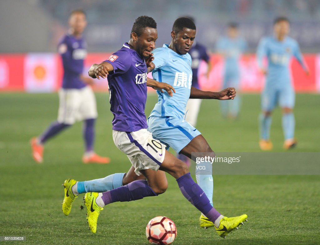 Jiangsu Suning v Tianjin Teda China Super League s and