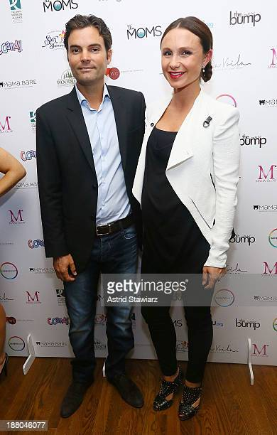 Ramiro Quintana and Georgina Bloomberg attend Star Showers An Evening Celebrating The Expansion Of Healthcare Services To Women Worldwide on November...