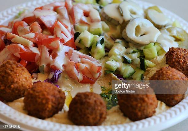 Rami's falafel salad plate Haim Cohen will open Cold Press nextdoor to his dad's restaurant business Rami's