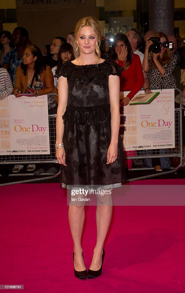 Ramola Garai attends the European premiere of 'One Day' at Vue Westfield on August 23, 2011 in London, England.