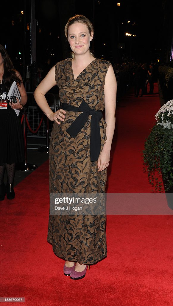 Ramola Garal attends BFI Gala Dinner on October 8, 2013 in London, England.