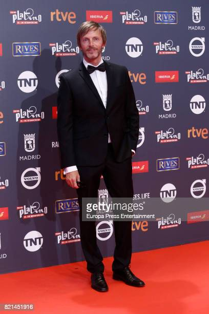 Ramon Esquinas attends Platino Awards 2017 at La Caja Magica on July 22 2017 in Madrid Spain