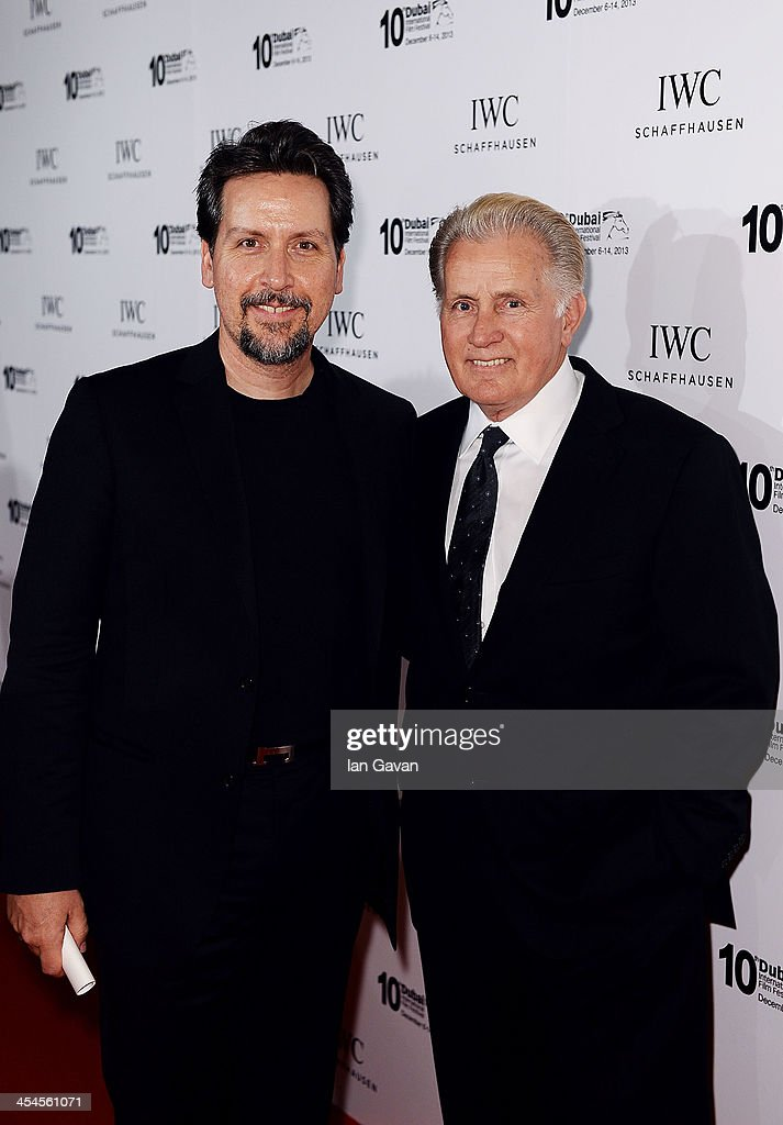 Ramon Estevez and <a gi-track='captionPersonalityLinkClicked' href=/galleries/search?phrase=Martin+Sheen&family=editorial&specificpeople=203224 ng-click='$event.stopPropagation()'>Martin Sheen</a> attend the IWC Schaffhausen For The Love Of Cinema IWC Filmmakers Award 2013 at One And Only Royal Mirage on December 7, 2013 in Dubai, United Arab Emirates.