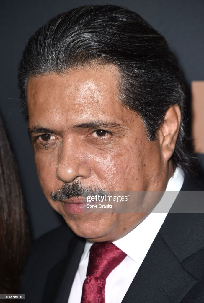 Ramon Franco arrives at the FX's 'The Bridge' Season 2 Premiere at Pacific Design Center on July 7, 2014 in West Hollywood, California.
