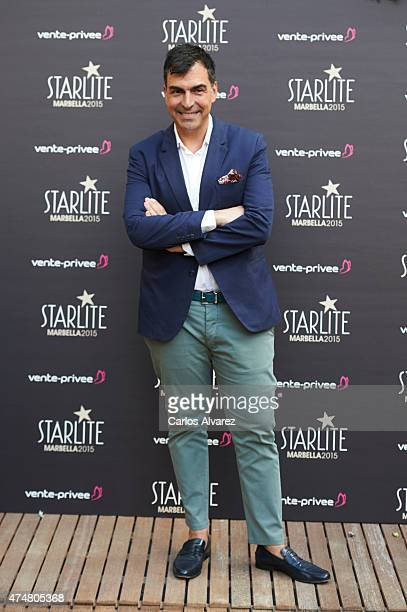 Ramon Freixa attends the 'Pure Starlite' party presentation at the Hotel Puro on May 26 2015 in Madrid Spain