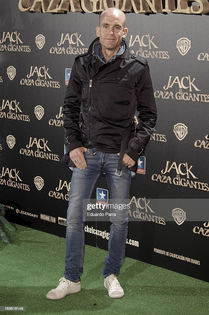 Ramon Fuentes attends 'Jack el Caza Gigantes' premiere photocall at Kinepolis cinema on March 13, 2013 in Madrid, Spain.